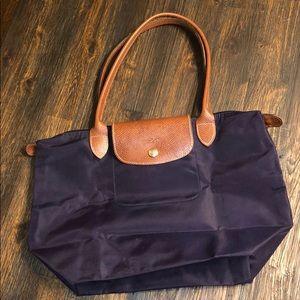 Longchamp bag- small purple